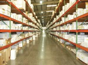 Lighting in warehouse (Courtesy of Universal Lighting Technologies)